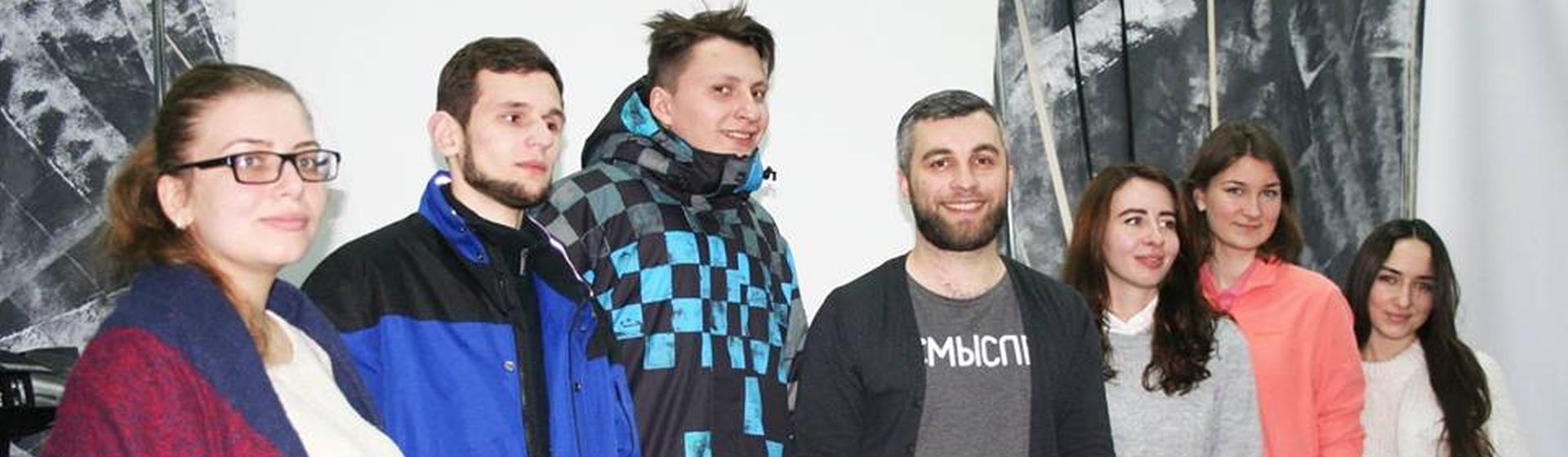 Зустріч з актором Дмитром Микишею