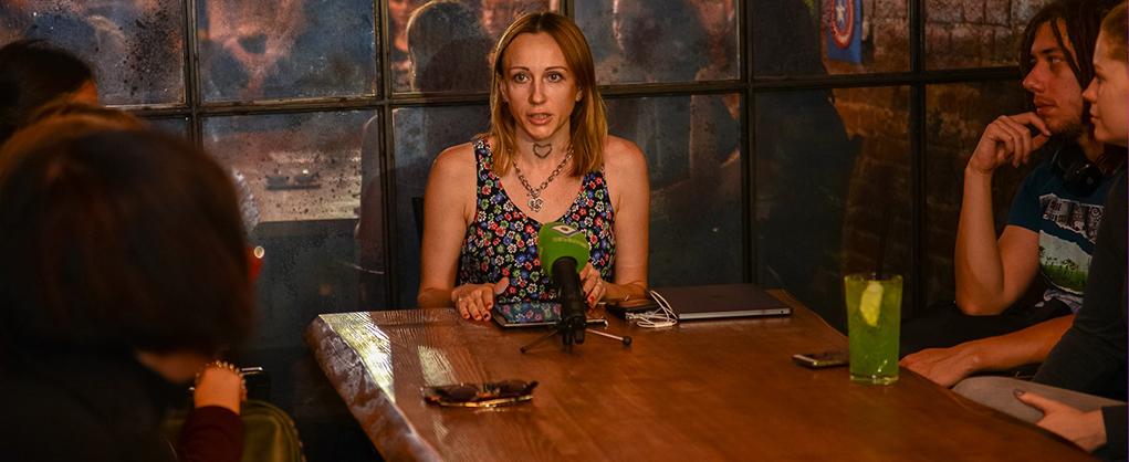 Творча зустріч з голлівудською репортеркою Анною Павловою-Грінтрі