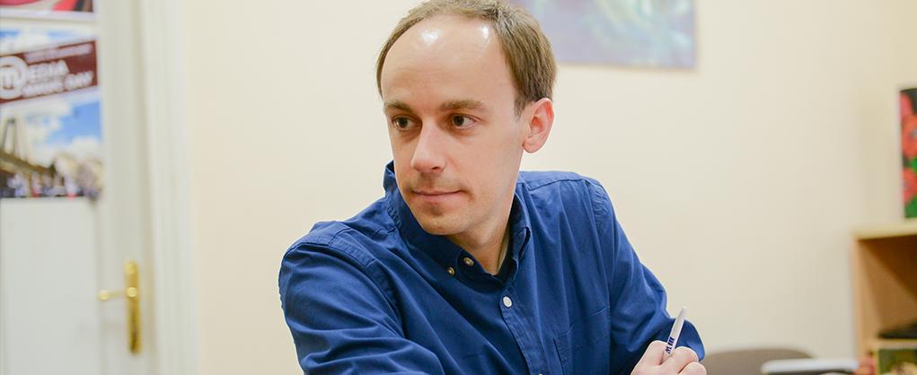 Зустріч з американським журналістом Крисом Коллісоном