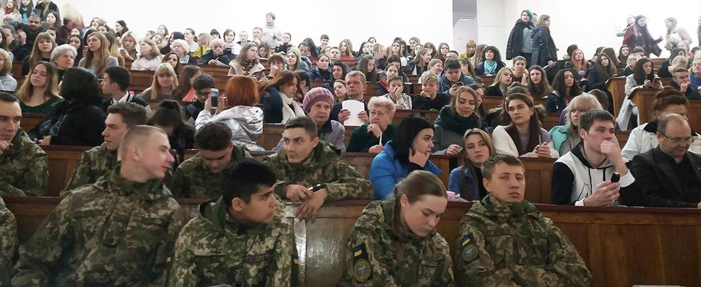 Кафедра медіакомунікацій долучилася до всеукраїнського радіодиктанту