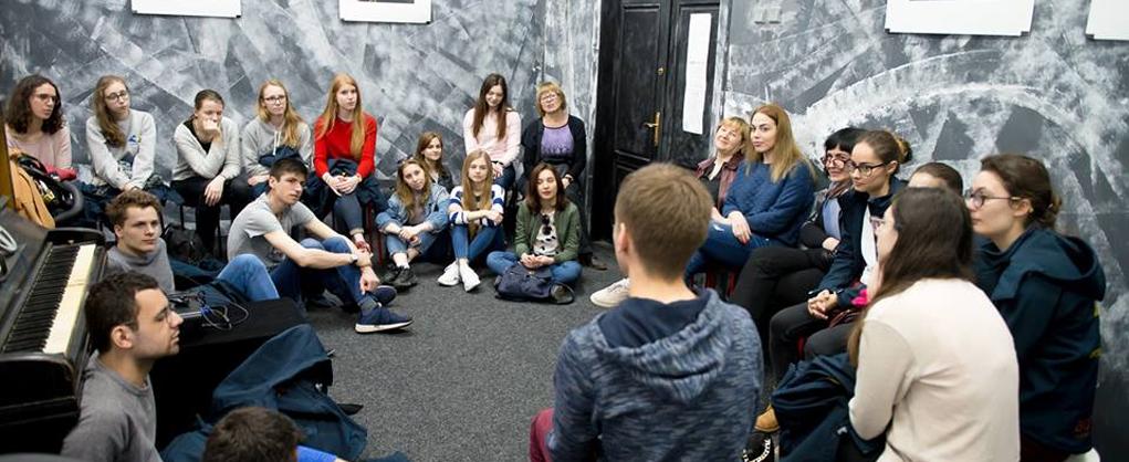 Зустріч зі студентами з Франції